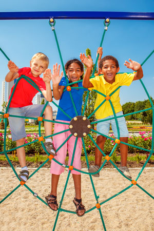 Kids on Playground- Pediatric Dentists in Riverside, Moreno Valley and Grand Terrace, CA